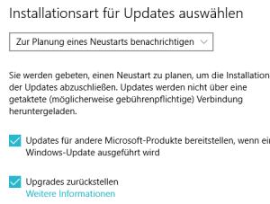 Automatische Updates ausschalten