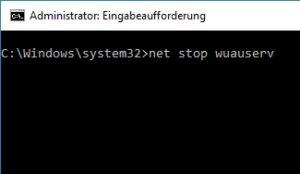 Updates unter Windows 10 abbrechen