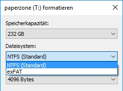 USB-Stick mit FAT32 formatieren: So geht's in Windows 10