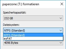 USB-Stick mit FAT32 formatieren: So geht's in Windows 10