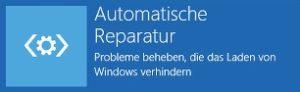 Windows 10 hängt bei automatischer Reparatur und Diagnose