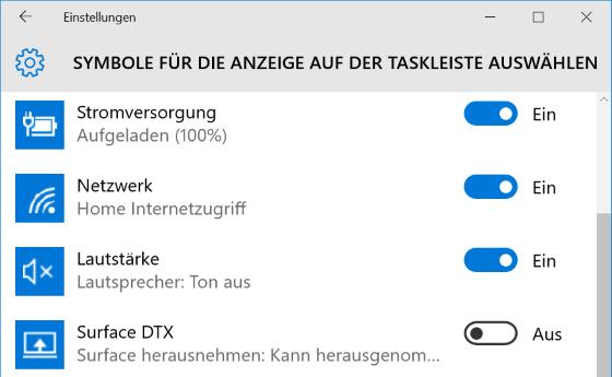 Akkuanzeige fehlt in Windows 10