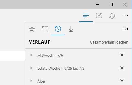 Edge Verlauf Automatisch Loschen Und Nicht Speichern Geht Das Im Windows 10 Browser Win10 Tipps De