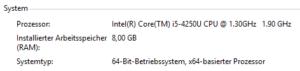 So viel RAM unterstützt Windows 10