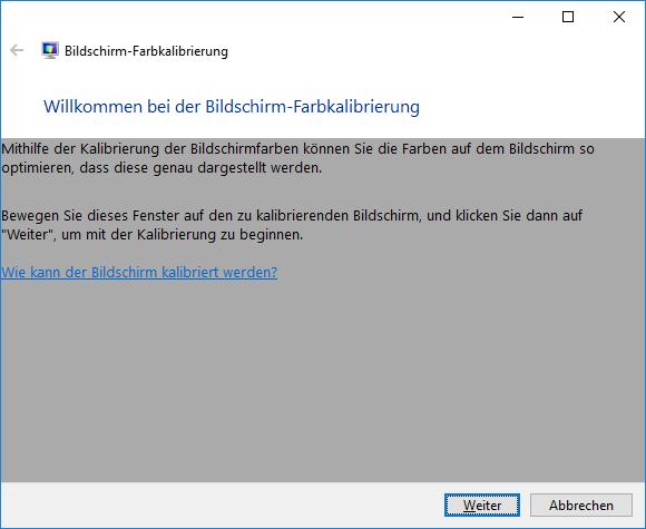 Windows 10 Kontrast und Farben einstellen