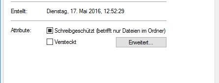 Windows 10 Ordner ausblenden