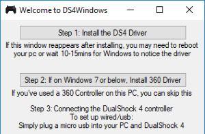 PS4 Controller Treiber für Windows 10 installieren
