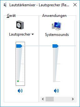 Bass reduzieren unter Windows 10